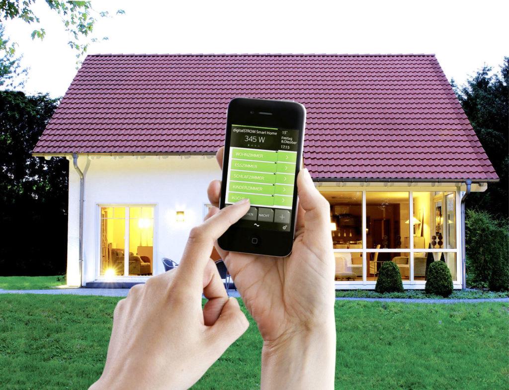 Digitalstrom ermöglicht die Steuerung Ihres Smart Home mittels Smartphone-App