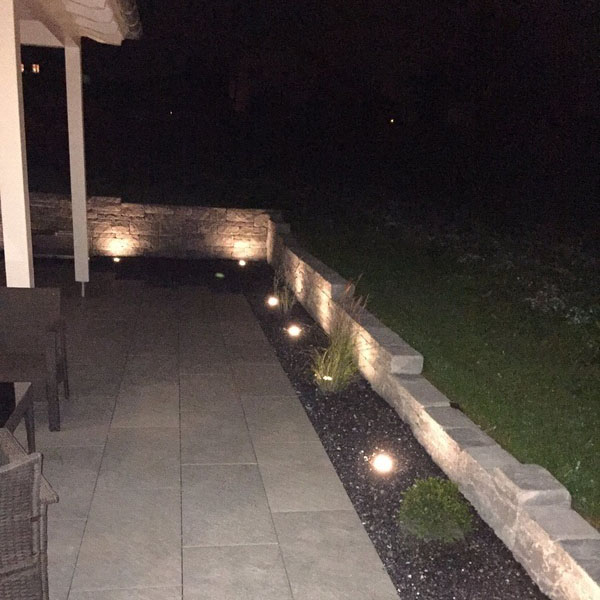 Moderne Wegbeleuchtung dank LED-Technologie