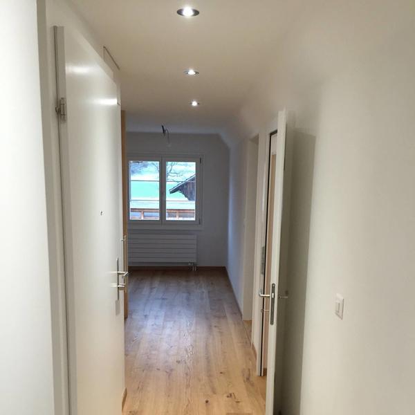 LED-Beleuchtung für warme Raumgestaltung